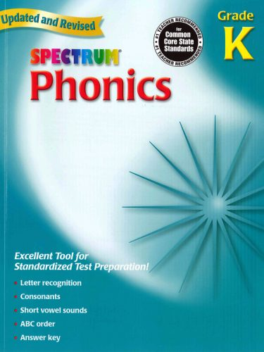 Spectrum Phonics K - Kindergarten