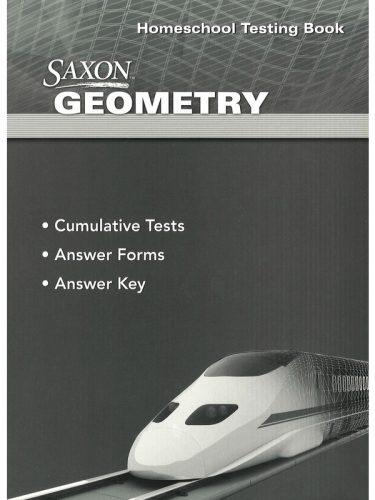 Saxon Geometry Test Forms