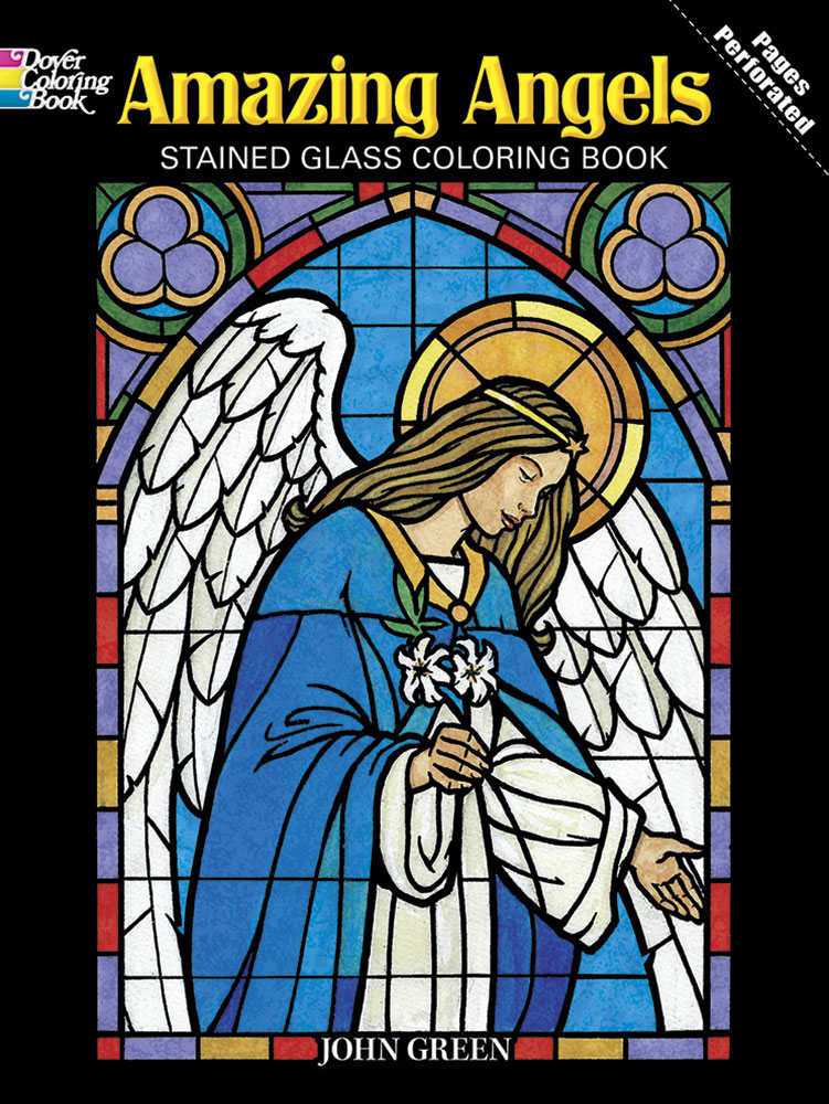 Amazing Angels Stained Glass Coloring Book – Our Lady of Victory School