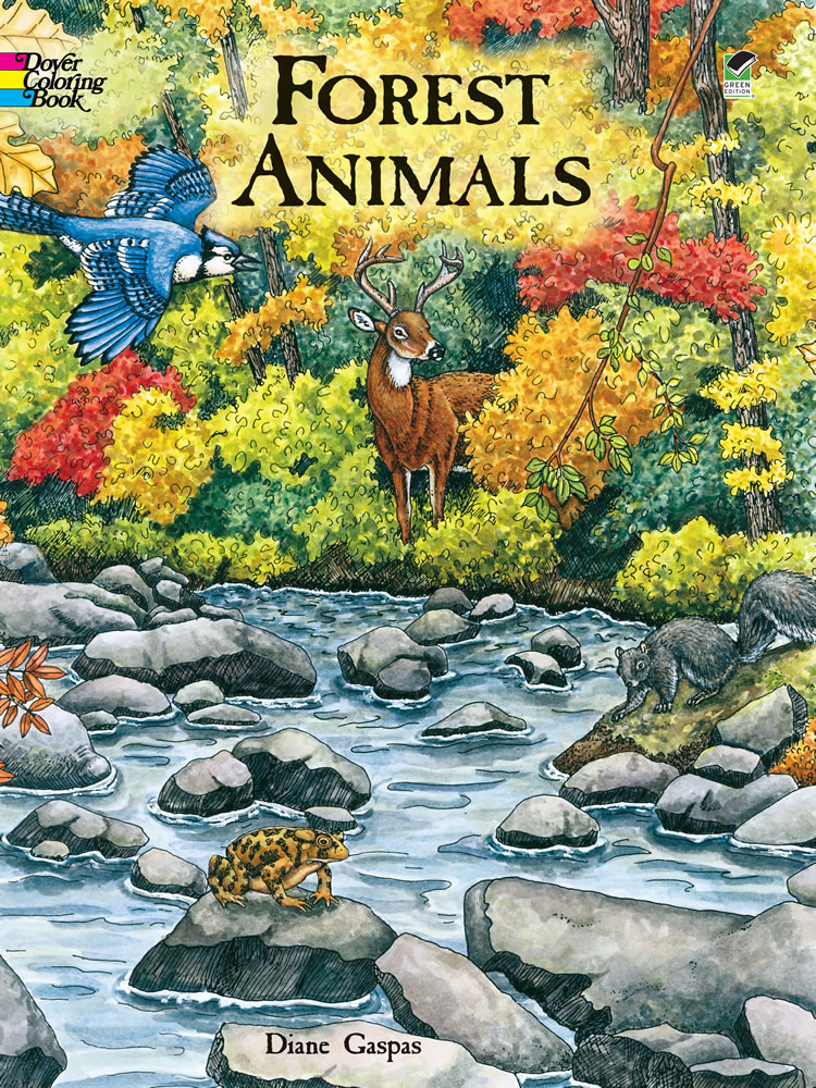 Forest Animals Coloring Book – Our Lady of Victory School
