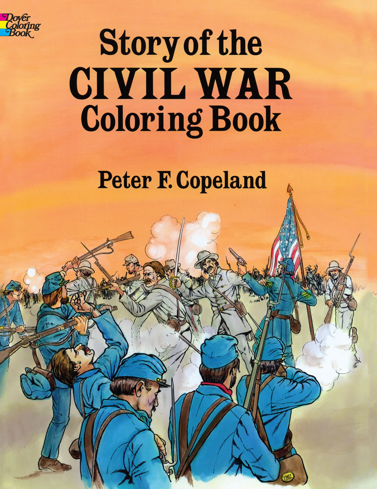 Story of the Civil War Coloring Book