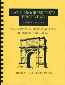 Latin 1st Year (I & II) Progress Tests