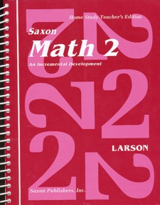 Saxon 2 Teacher Manual