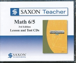 Saxon Teacher Math 6/5 Lesson and Test CDs