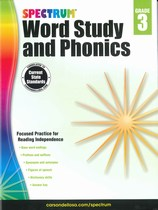 Spectrum Word Study & Phonics 3 - 3rd Grade