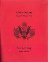 A New Nation Answer Key